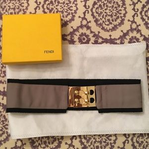 Authentic FENDI logo waistbelt